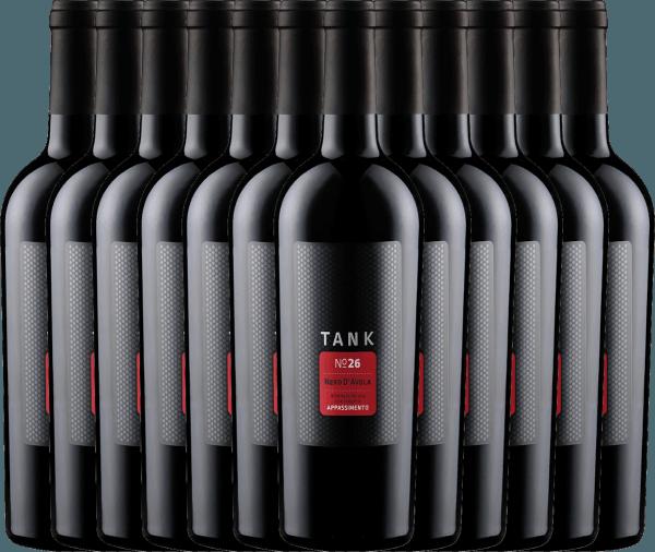 Confezione-vantaggio da 12 bottiglie - TANK No 26 Nero d'Avola Appassimento IGT 2019 - Cantine Minini