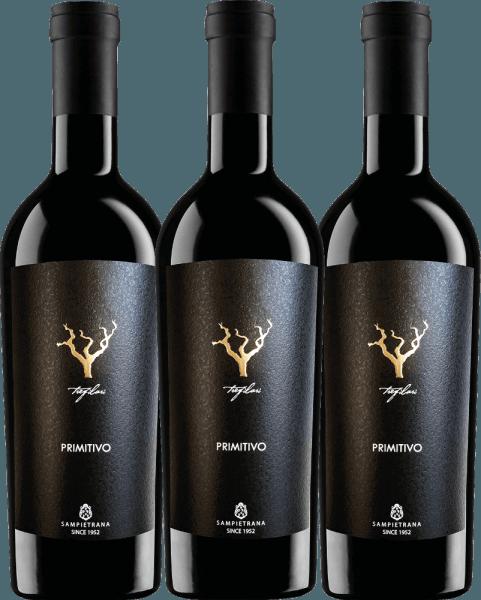 Confezione-vantaggio da 3 bottiglie - Trefilari Primitivo 2019 - Cantina Sampietrana