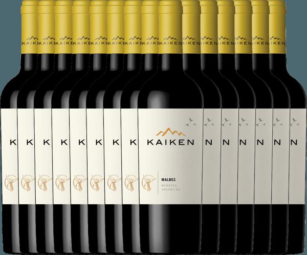 Confezione-vantaggio da 15 bottiglie - Kaiken Malbec 2019 - Viña Kaiken