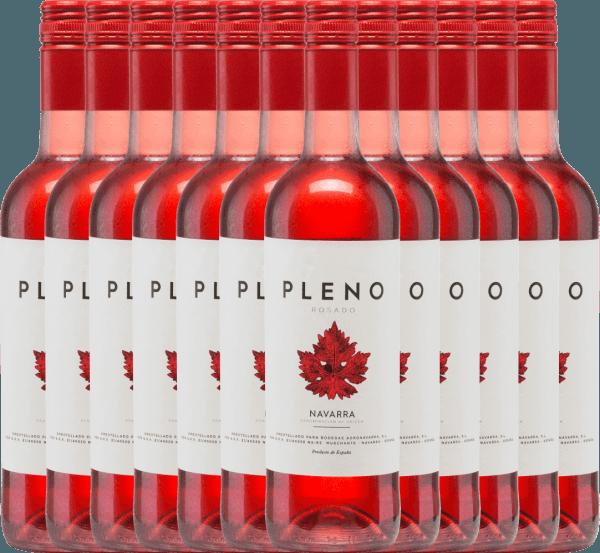 Confezione-vantaggio da 12 bottiglie - Pleno Rosado DO 2019 - Bodegas Agronavarra