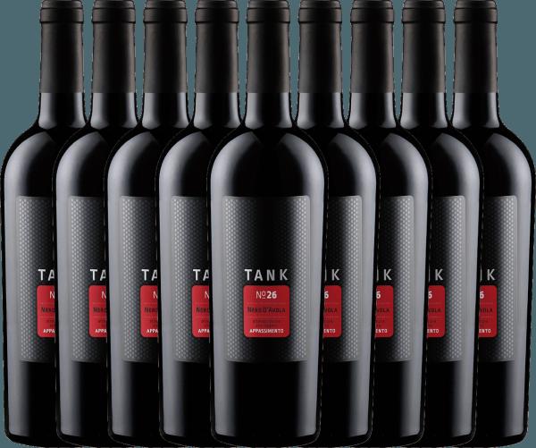 Confezione-vantaggio da 9 bottiglie - TANK No 26 Nero d'Avola Appassimento IGT 2019 - Cantine Minini