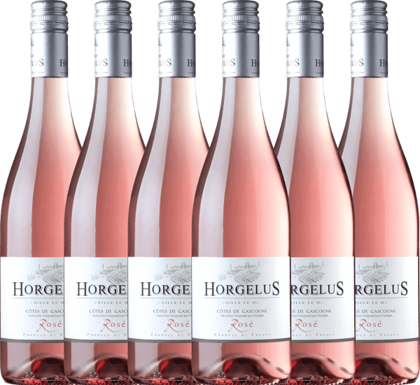 Confezione-vantaggio da 6 bottiglie - Horgelus Rosé 2020 - Domaine Horgelus