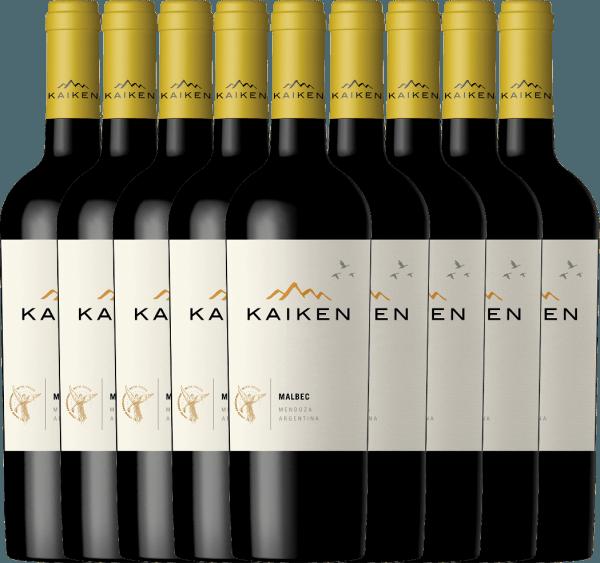 Confezione-vantaggio da 9 bottiglie - Kaiken Malbec 2019 - Viña Kaiken
