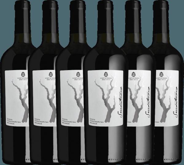 Confezione-vantaggio da 6 bottiglie - Sessantenario Malvasia IGT 2015 - Cantina Sampietrana
