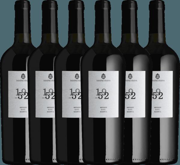 Confezione-vantaggio da 6 bottiglie - Since 1952 Brindisi Riserva DOC 2017 - Cantina Sampietrana