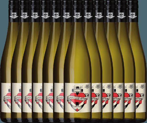 Confezione-vantaggio da 12 bottiglie - Glaube-Liebe-Hoffnung Riesling 2019 - Bergdolt-Reif & Nett