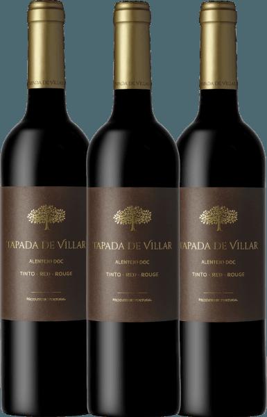 Confezione-vantaggio da 3 bottiglie - Tapada de Villar Tinto 2019 - Quinta das Arcas