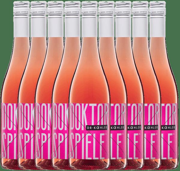 Confezione-vantaggio da 9 bottiglie - Doktorspiele Rosé 2019 - Dr. Koehler