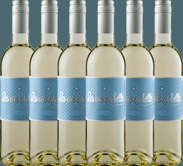 Confezione-vantaggio da 6 bottiglie - La vie est belle blanc 2019 - La vie est belle