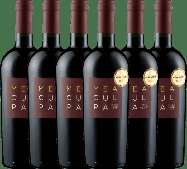 Confezione-vantaggio da 6 bottiglie - MEA CULPA Vino Rosso Italia - Cantine Minini