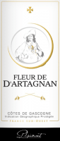 Vorschau: Fleur de d'Artagnan Rosé Côtes de Gascogne 2019 - Plaimont