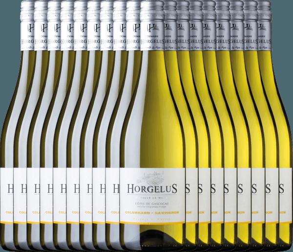 Confezione-vantaggio da 18 bottiglie - Horgelus Blanc 2020 - Domaine Horgelus