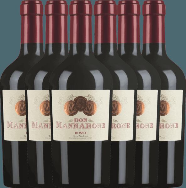 Confezione-vantaggio da 6 bottiglie - Don Mannarone Terre Siciliane IGT 2019 - Mánnara