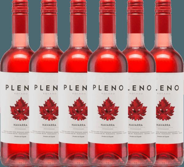 Confezione-vantaggio da 6 bottiglie - Pleno Rosado DO 2019 - Bodegas Agronavarra