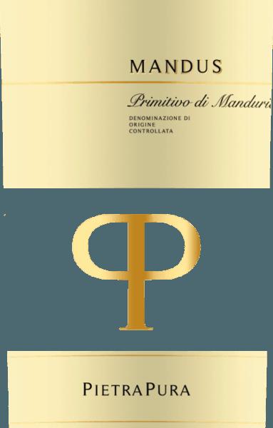 Il colore del meravigliosamente strutturato Mandus Primitivo di Manduria di Pietra Pura è un rosso ciliegia scuro. Nel bicchiere, questo vino rosso italiano ha un profumo molto intenso di amarene fruttate, prugne e cassis, accentuato da leggere note tostate. Al palato, il Mandus Primitivo è caratterizzato da tannini dolci e da un gusto morbido. Una nota di vaniglia armoniosamente integrata e sottili sfumature di legno completano il gusto. Vinificazione del Mandus Primitivo di Manduria DOC Mandus di Pietra Pura La linea Pietra Pura è il risultato della collaborazione tra Rocca delle Macie, la cantina della famiglia Zingarelli, e il vigneto Terre di Sava in Puglia. Le uve di questo Primitivo in purezza sono raccolte nella zona di San Marzano. Dopo la fermentazione a temperatura controllata, il vino rosso viene delicatamente pressato e separato dalle bucce e dai semi. Poi invecchia per ben quattro mesi in botti di rovere francese. Raccomandazione di cibo per il Mandus Primitivo Servire il Mandus Primitivo di Manduria di Pietra Pura a 16-18°C con salse di carne, selvaggina e formaggi duri. Questo vino si sposa bene anche con le melanzane al forno con il parmigiano.