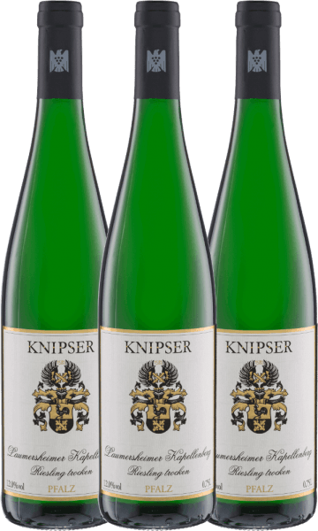 Confezione-vantaggio da 3 bottiglie - Laumersheimer Kapellenberg Riesling 2020 - Knipser