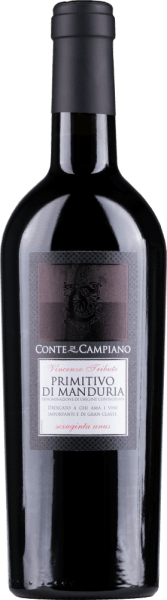 Primitivo di Manduria DOC 2019 - Conte di Campiano