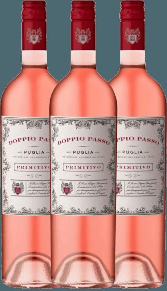Confezione-vantaggio da 3 bottiglie - Doppio Passo Rosato IGT 2020 - CVCB