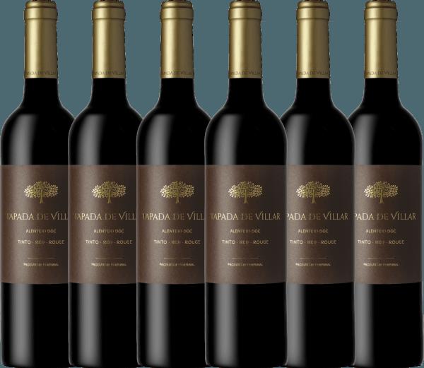 Confezione-vantaggio da 6 bottiglie - Tapada de Villar Tinto 2019 - Quinta das Arcas