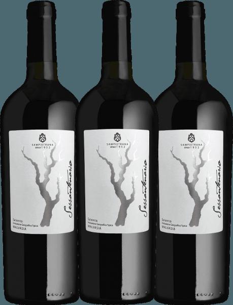 Confezione-vantaggio da 3 bottiglie - Sessantenario Malvasia IGT 2015 - Cantina Sampietrana