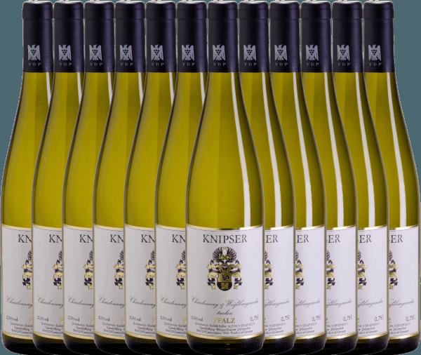 Confezione-vantaggio da 12 bottiglie - Chardonnay & Weißburgunder 2019 - Knipser
