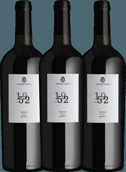 Confezione-vantaggio da 3 bottiglie - Since 1952 Brindisi Riserva DOC 2017 - Cantina Sampietrana