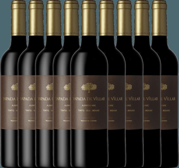 Confezione-vantaggio da 9 bottiglie - Tapada de Villar Tinto 2019 - Quinta das Arcas