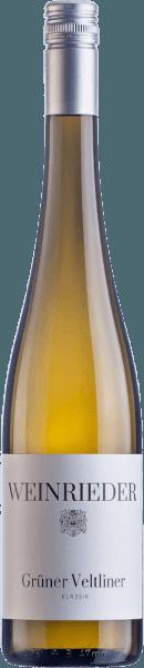 Klassik Grüner Veltliner Weinviertel DAC 2020 - Weinrieder