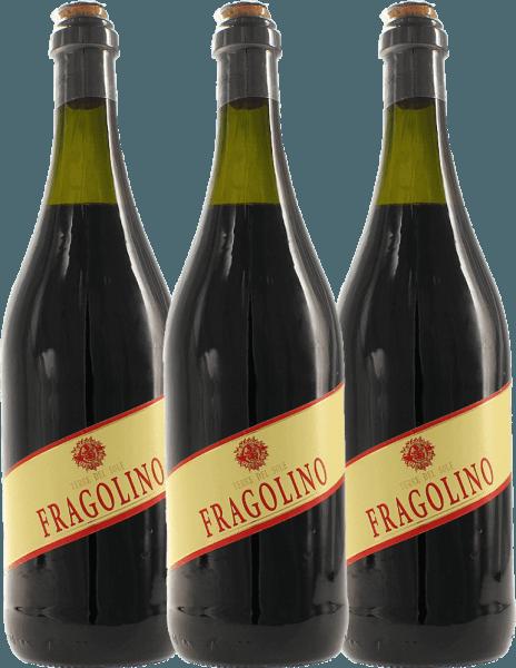 Confezione-vantaggio da 3 bottiglie - Fragolino Rosso - Terre del Sole