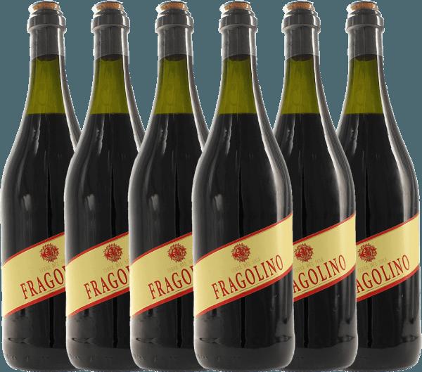 Confezione-vantaggio da 6 bottiglie - Fragolino Rosso - Terre del Sole