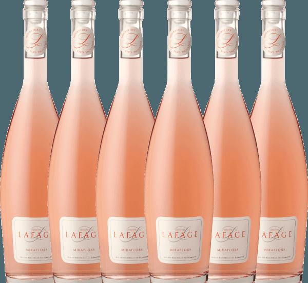 Confezione-vantaggio da 6 bottiglie - Miraflors Rosé 2020 - Domaine Lafage