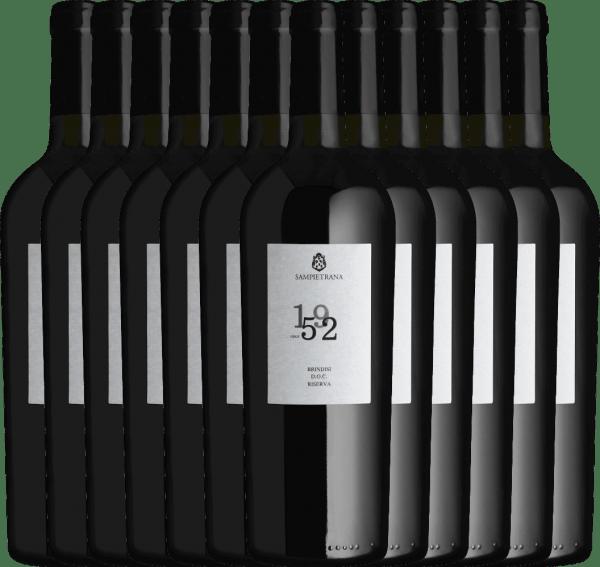 Confezione-vantaggio da 12 bottiglie - Since 1952 Brindisi Riserva DOC 2017 - Cantina Sampietrana