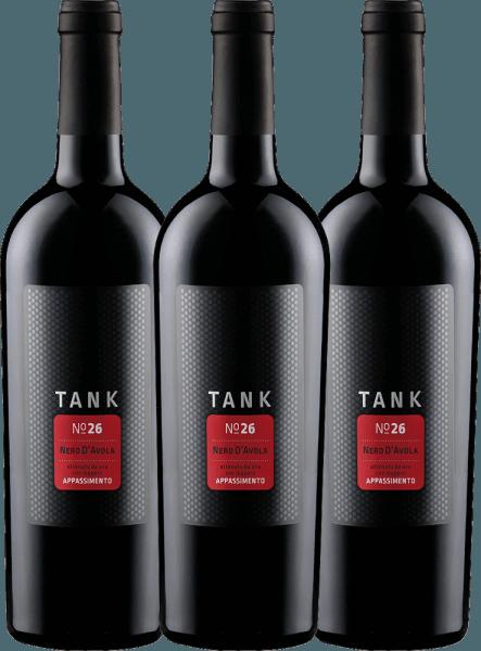 Confezione-vantaggio da 3 bottiglie - TANK No 26 Nero d'Avola Appassimento IGT 2019 - Cantine Minini