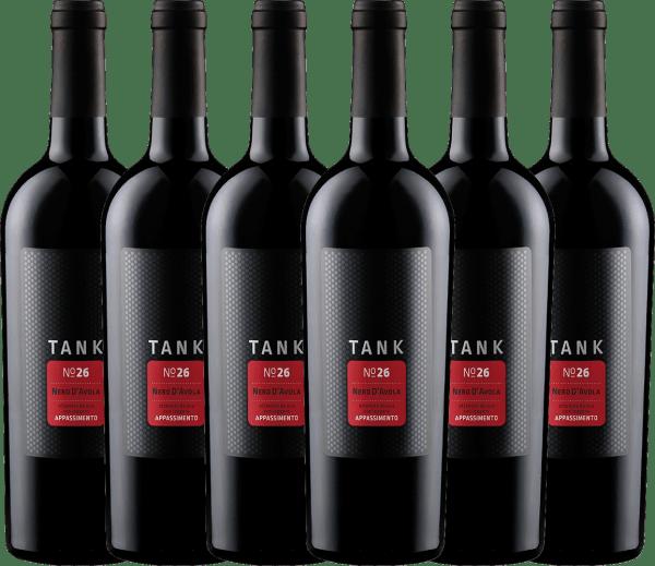 Confezione-vantaggio da 6 bottiglie - TANK No 26 Nero d'Avola Appassimento IGT 2019 - Cantine Minini
