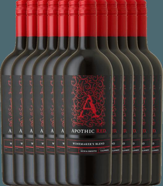 12er Vorteils-Weinpaket Apothic Red 2019 - Apothic Wines