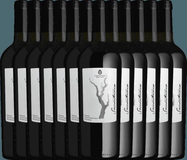 Confezione-vantaggio da 12 bottiglie - Sessantenario Malvasia IGT 2015 - Cantina Sampietrana