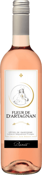 Fleur de d'Artagnan Rosé Côtes de Gascogne 2019 - Plaimont