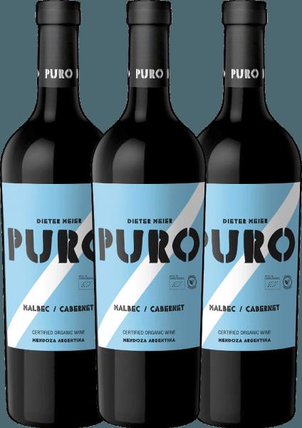 Confezione-vantaggio da 3 bottiglie - Puro Malbec Cabernet 2019 - Dieter Meier