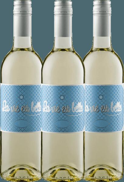 Confezione-vantaggio da 3 bottiglie - La vie est belle blanc 2019 - La vie est belle