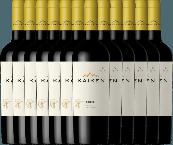 Confezione-vantaggio da 12 bottiglie - Kaiken Malbec 2019 - Viña Kaiken