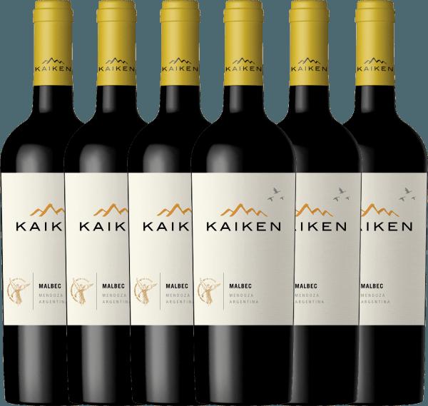 Confezione-vantaggio da 6 bottiglie - Kaiken Malbec 2019 - Viña Kaiken