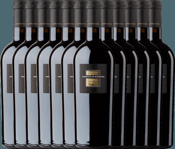 Confezione-vantaggio da 12 bottiglie - Sessantanni Primitivo di Manduria DOC 2017 - Cantine San Marzano