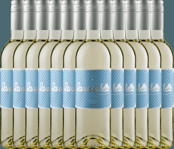 Confezione-vantaggio da 12 bottiglie - La vie est belle blanc 2019 - La vie est belle