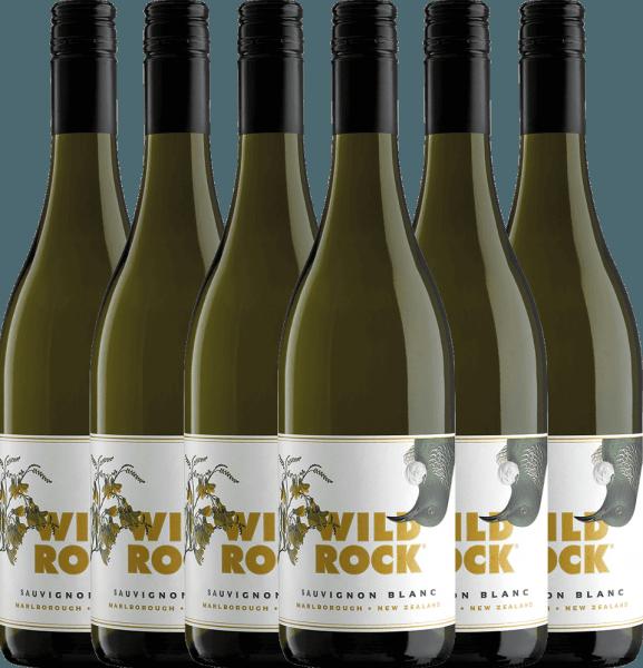 Confezione-vantaggio da 6 bottiglie - Sauvignon Blanc Marlborough 2019 - Wild Rock