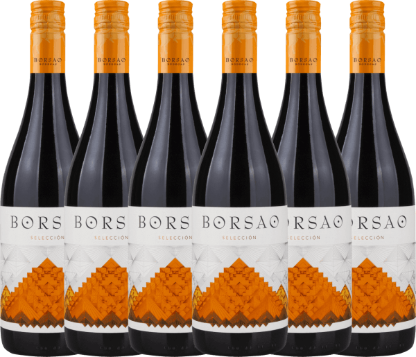 Confezione-vantaggio da 6 bottiglie - Borsao Selección Joven 2019 - Bodegas Borsao