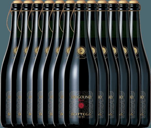 Confezione-vantaggio da 12 bottiglie - Fragolino Rosso Frizzante - Bottega