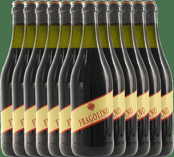Confezione-vantaggio da 12 bottiglie - Fragolino Rosso - Terre del Sole