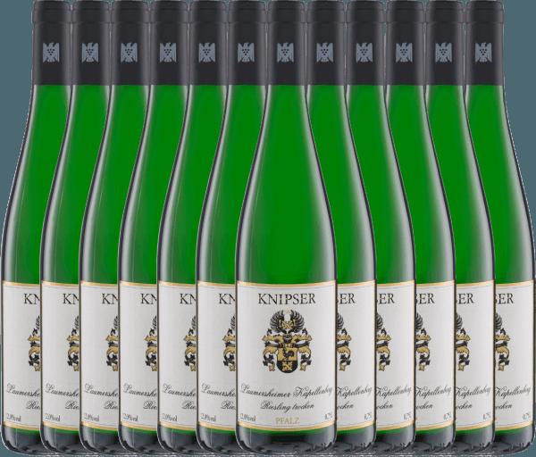 Confezione-vantaggio da 12 bottiglie - Laumersheimer Kapellenberg Riesling 2020 - Knipser